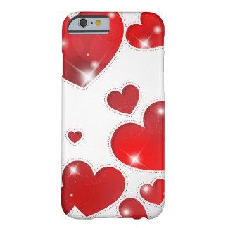 Toda la caja de los corazones funda de iPhone 6 barely there