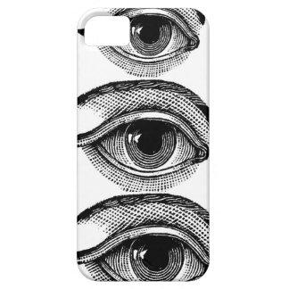Toda la caja del teléfono del ojo que ve iPhone 5 carcasas