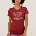 Toda la camiseta AMERICANA de GRANDMOM Playera