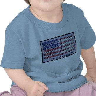 Toda la camiseta americana de los bebés de la band