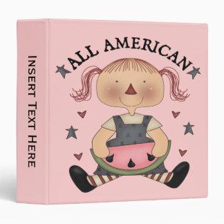 Toda la carpeta americana de Avery del chica