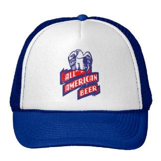 Toda la cerveza americana gorras