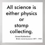Toda la ciencia es la física o collecti del sello… posters