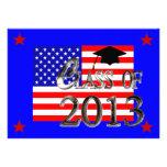 Toda la clase americana de las invitaciones 2013 d comunicado personal