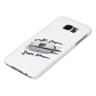 Toda la cubierta elegante del teléfono del jugador fundas samsung galaxy s6