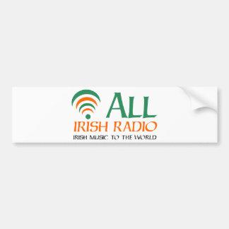 Toda la Dublín irlandesa (radio) Etiqueta De Parachoque