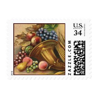 Toda la generosidad de la acción de gracias sea sello postal