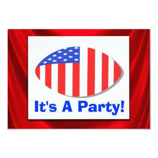 Toda la invitación patriótica del fiesta del