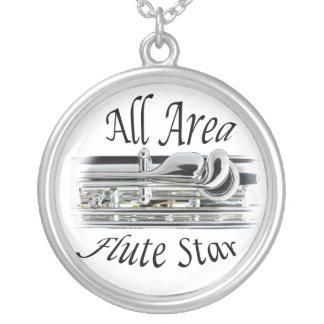 Toda la joyería del jugador de flauta del área del