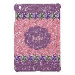 Toda la mirada púrpura de la gema del brillo del r iPad mini coberturas