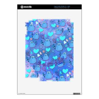 Toda la necesidad del ya es ilustraciones torpes d iPad 2 skins