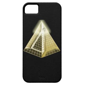 Toda la pirámide 1 del ojo que ve funda para iPhone SE/5/5s
