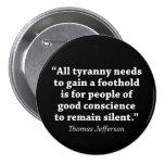 Toda la tiranía necesita ganar un equilibrio está  pins