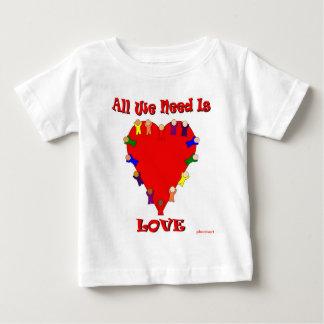 Toda lo que necesitamos es camiseta del niño del