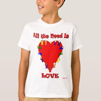 Toda lo que necesitamos es la camiseta de los