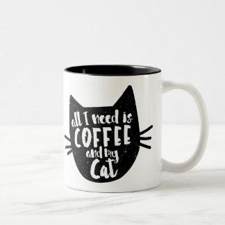 """""""Toda lo que necesito es taza del café y de mi"""