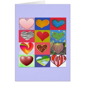 Toda lo que usted necesita es tarjeta del amor