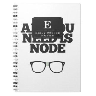 Toda lo que usted necesita es tipografía del libros de apuntes