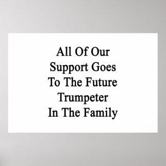Toda nuestra ayuda entra al trompetista futuro póster