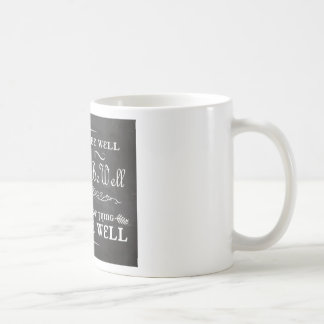 Toda será taza de café bien