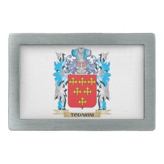 Todarini Coat of Arms - Family Crest Belt Buckle