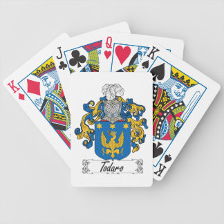 Todaro Family Crest Deck Of Cards