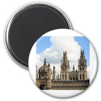 Todas las almas universidad, Oxford Imán Redondo 5 Cm