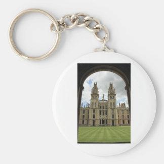 Todas las almas universidad, Oxford Llavero Redondo Tipo Pin
