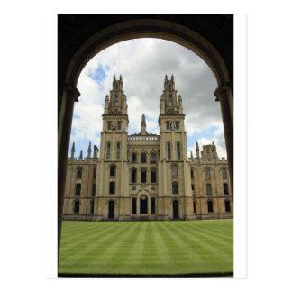 Todas las almas universidad, Oxford Postal