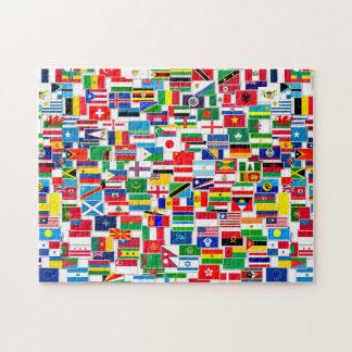 Todas las banderas del International Rompecabezas Con Fotos