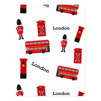 Todas las cosas Londres Tarjetas Postales