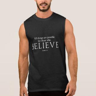 Todas las cosas son posibles para las que crean camiseta sin mangas