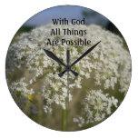 Todas las cosas son reloj de pared posible