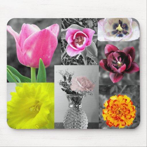 todas las flores mousepads