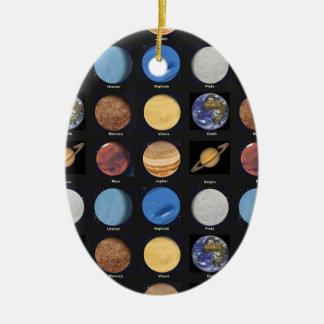 Todas las fotos de la ciencia de los planetas con ornaments para arbol de navidad