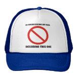 Todas las generalizaciones son falsas, incluyendo  gorras de camionero