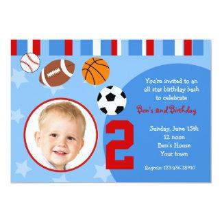 Todas las invitaciones del cumpleaños de la foto anuncios