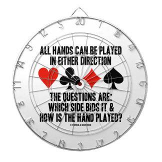 Todas las manos (del puente) se pueden jugar
