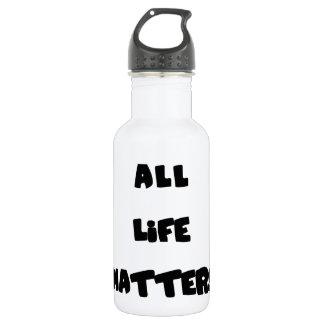 Todas las materias de la vida botella de agua