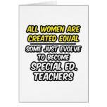 Todas las mujeres son igual creado. Ed especial. P Felicitaciones