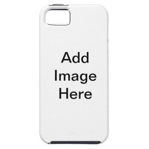 Todas las necesidades imprimibles iPhone 5 Case-Mate cobertura