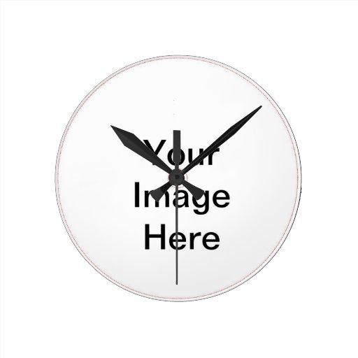 Todas las necesidades imprimibles reloj redondo mediano
