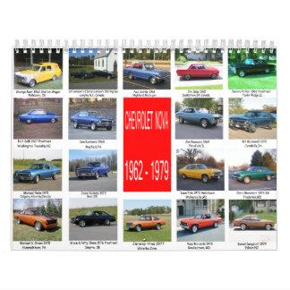 Todas las Novas a partir de 1962-1979 Calendario