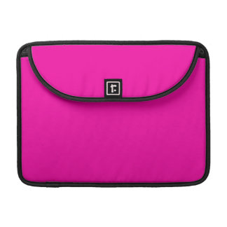Todas las rosas fuertes nada pero colorean rosa fundas para macbook pro