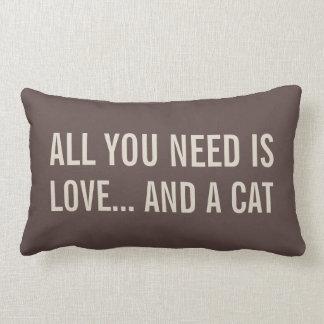 Todas lo que usted necesita son amor… y almohadas