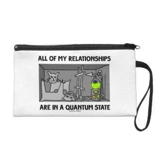 Todas mis relaciones están en un estado de Quantum