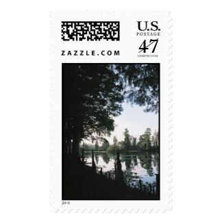 Todavía aguas -- Vertical Timbre Postal