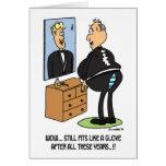Todavía ajustes como un guante… tarjeta