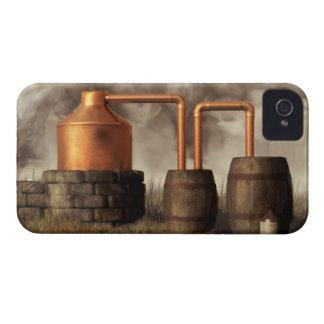 Todavía alcohol ilegal del pantano Case-Mate iPhone 4 protectores