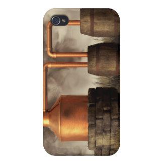 Todavía alcohol ilegal del pantano iPhone 4 fundas
